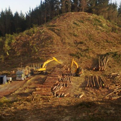 Ground based logging