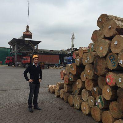 China log market trip