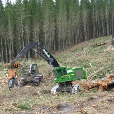 Mechanised ground based logging